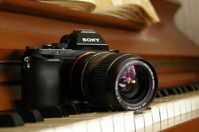 Minolta Rokkor 2/28 an der Sony A7