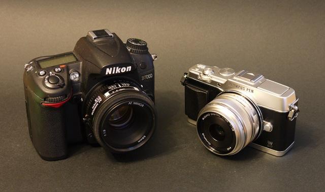Vergleich: Nikon D7000 und Olympus E-P5