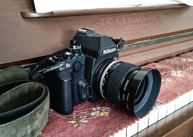 Nikkor AI-S 1.4/35 an der Nikon Df (Foto: Sony Xperia Z3)